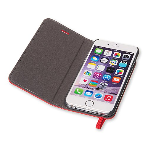 Moleskine Scarlet Red Classic Original Booktype Case for iPhone 7/7s