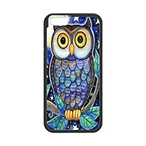 Owl art Pattern Hard Snap Phone Case For For Iphone 6 Case 4.7 Inch color17 by mcsharks