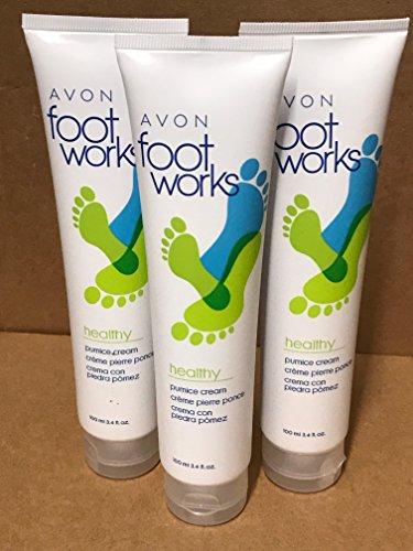 Avon Foot - Avon Foot Works Healthy Pumice Cream Lot 3 Tubs