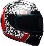 Bell Qualifier Full-Face Motorcycle Helmet (Gloss White/Black/Red Splice, X-Small)