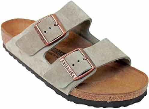 9dfc74fcd255 Birkenstock Arizona 2-Strap Suede Leather Sandals