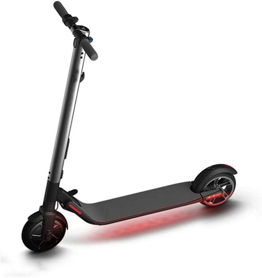 電動スクーターの通勤 大人のためのスクーター折りたたみ電動スクーターキック/キッズ36V 300W毎時25キロ最大荷重100キロ (色 : ブラック, サイズ : ワンサイズ) ブラック ワンサイズ