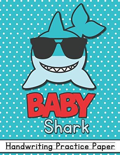 Baby Shark: Handwriting Practice Paper