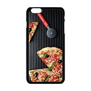 Hot phonecase, Delicious food Pizza picture for black plastic iphone 6 case (5.5 inch)