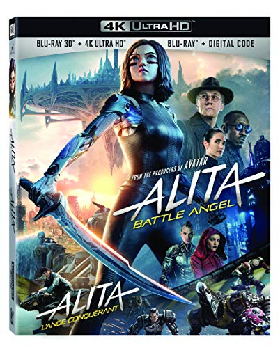 Alita Battle Angel (Bilingual) [3D 4K Blu-ray + Digital Copy]