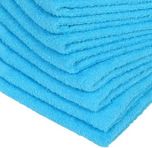 WKG 泉州製 フェイスタオル 3枚セット 日本製 綿100% ソフトタオル 無地 (生成色)
