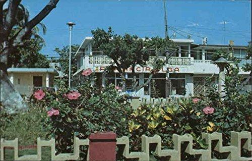 Town Plaza Luquillo, Puerto Rico Original Vintage - Plaza Town