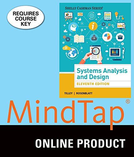 mindtap-mis-for-tilley-rosenblatts-systems-analysis-and-design-11th-edition