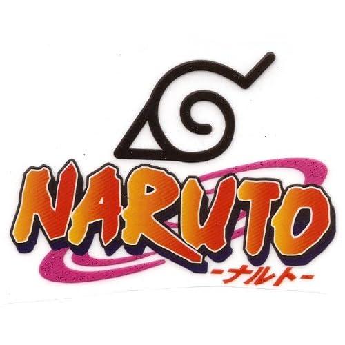 Amazon.com: Naruto Logo Japanese manga Heat Iron On ...