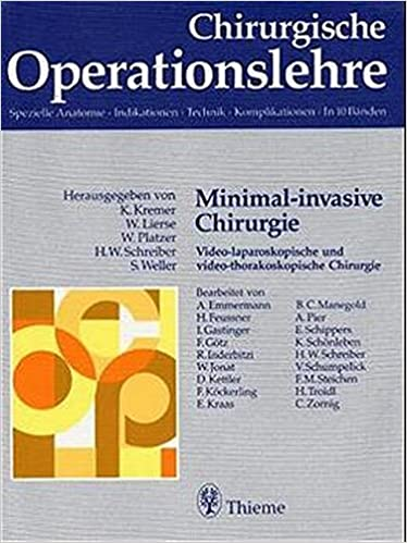 Chirurgische Operationslehre. Spezielle Anatomie, Indikationen ...