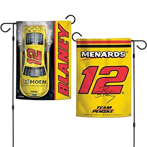 Two Sided Garden Flags - Ryan Blaney 2018 Two Sided Garden Flag