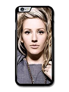 fashion case Ellie Goulding Singer Portrait with Chain case for iPhone 5c