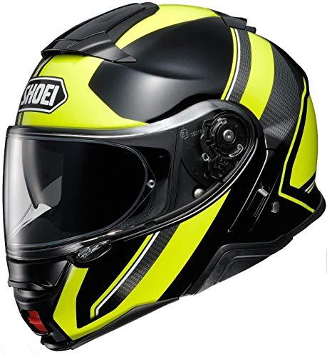 (Shoei Neotec II Helmet - Excursion (XX-LARGE) (YELLOW/BLACK))
