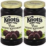 Knott's Berry Farm, Seedless Boysenberry Jam, 16oz