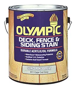 OLY S/T OIL CCOD GRAY GL by OLYMPIC MfrPartNo 58807A/01