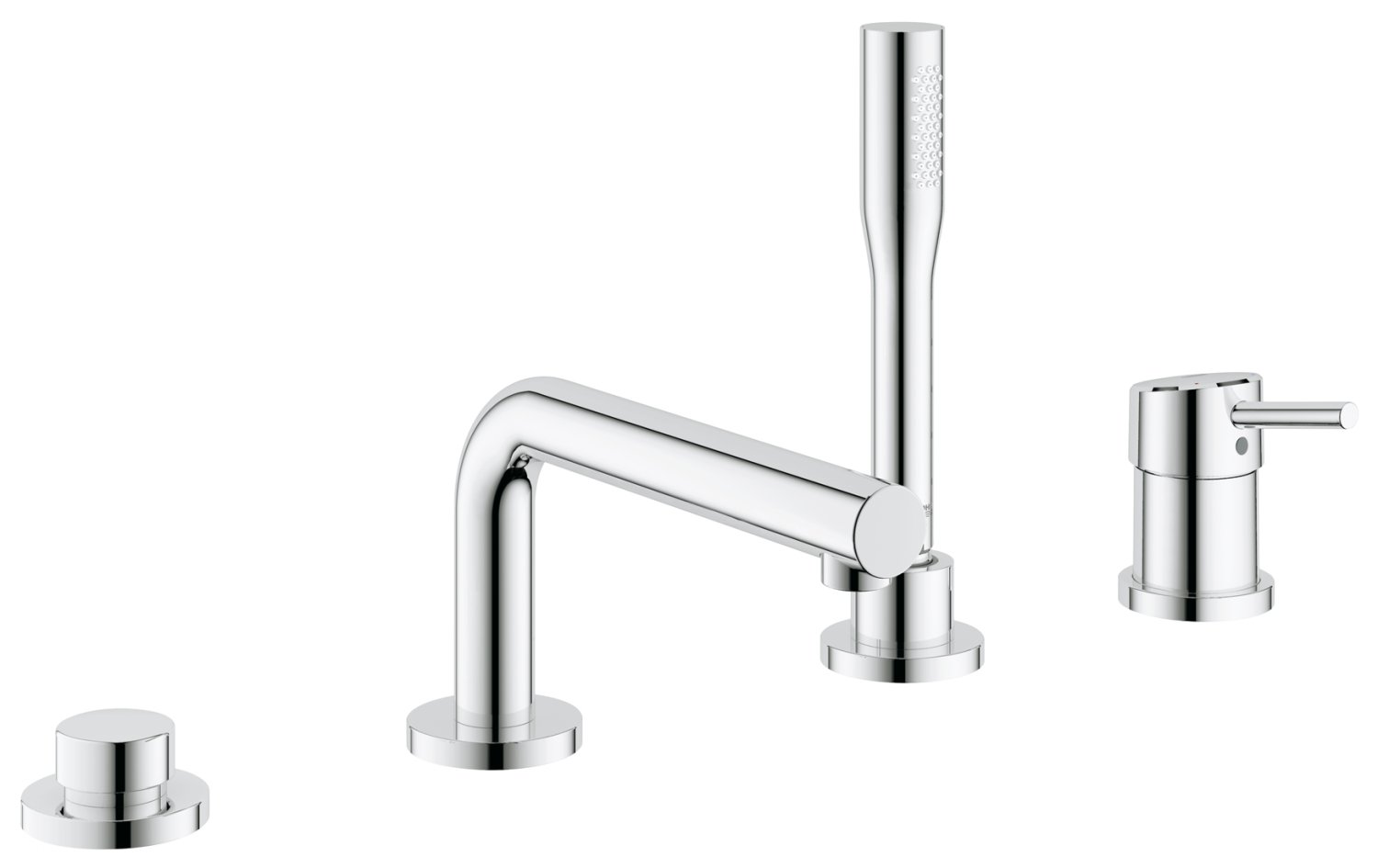 コンバイングローエ4穴EH。Concetto 19576001 B006WCLFZE  Grohe StarLight Chrome
