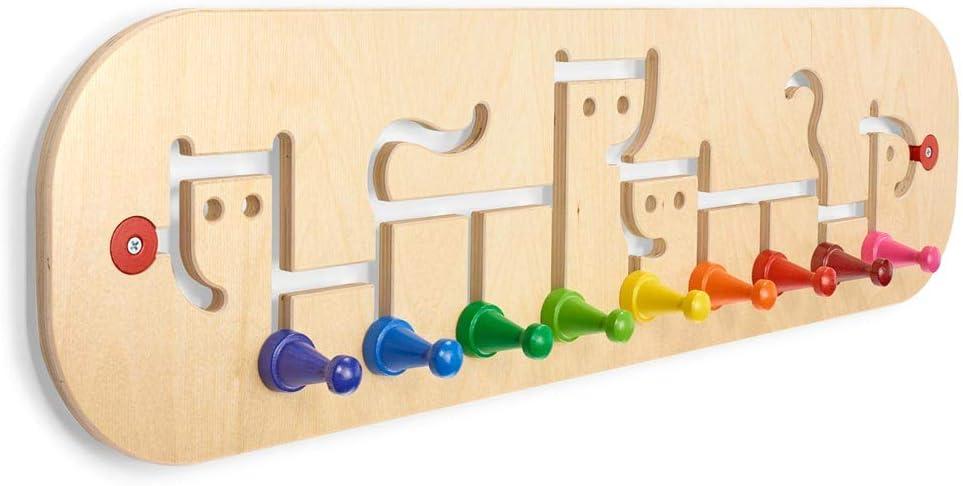 Holzgardrobe Kinder Selecta 60007 Garderobe Movella 74 x 20,5 cm