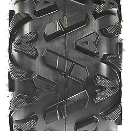 Set Pair of 2 SunF A/T ATV UTV Tires 22x7-12 22x7x12 6 PR A033