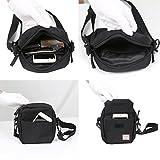 Black Small Side Shoulder Bag Crossbody Bag For Men