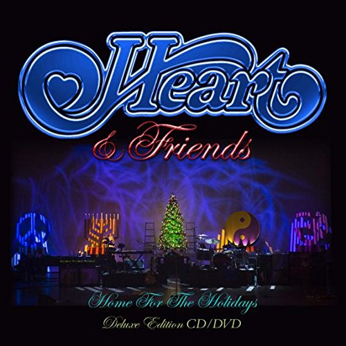 CD : Heart - Heart and Friends: Home For Christmas (With DVD, Digipack Packaging, 2 Disc)