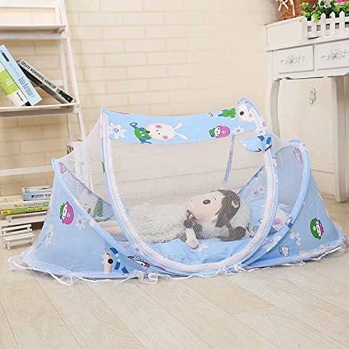 Baumwollkissen und Musikpaket XiZiMi Babyzelt Reisebett Reisebett Baby Anti Mosquito Reisebettzelt Babyzelt Faltbett mit Moskitonetz Matratze