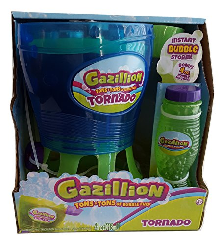 Gazillion Tornado Bubble Machine, Blue/Green, 7