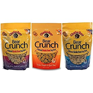 Charlee Bear Crunch Variety Pack (3 Pack) 8 oz