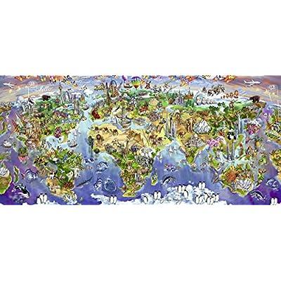 Ravensburger 2000 Pezzi World Wonders Panorama Puzzle
