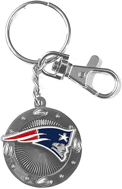New England Patriots Wristlet Keychain