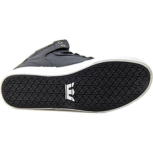 free shipping finishline Supra Vaider Hightop Shoes - Men's Vulcanised Skate Shoes in Grey Black White Black cheap collections free shipping release dates KGQ7Env