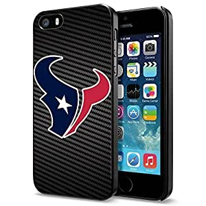 NFL Houston TexanCool iPhone 5 5s Smartphone Case Cover Collector iphone Black