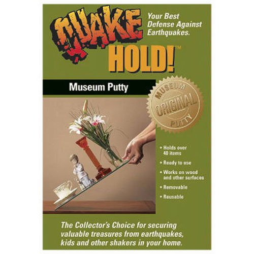 (Quakehold! 88111 Museum Putty)