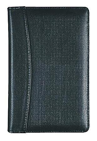 Collins Elite - Agenda de direcciones y teléfonos tamaño bolsillo, color negro