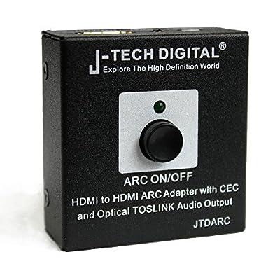 J-Tech Digital Hdmi Audio Converter Adapter