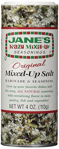 Jane S Krazy Mixed Up Salt, 4 oz