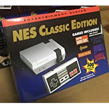 Generic Retro Family Game Console - with 500 games & 2 Controllers