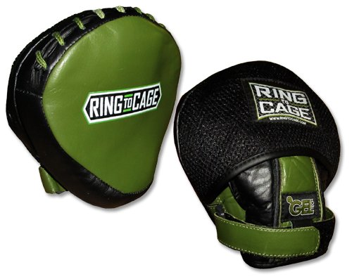 GelTech Mini Punch Mitt - Safety Cover, Micro Mitt, Boxing, Muay Thai, MMA, Kickboxing, Martial Arts by Ring to Cage
