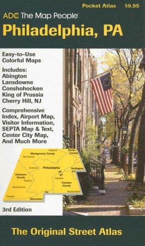 (ADC The Map People Philadelphia, PA (Adc the Map People Philadelphia Pa Street Map Book))