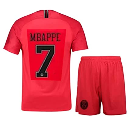 pretty nice dc4e8 a9d90 Amazon.com : LISIMKEM UEFA Paris Saint Germain Mbappe#7 ...