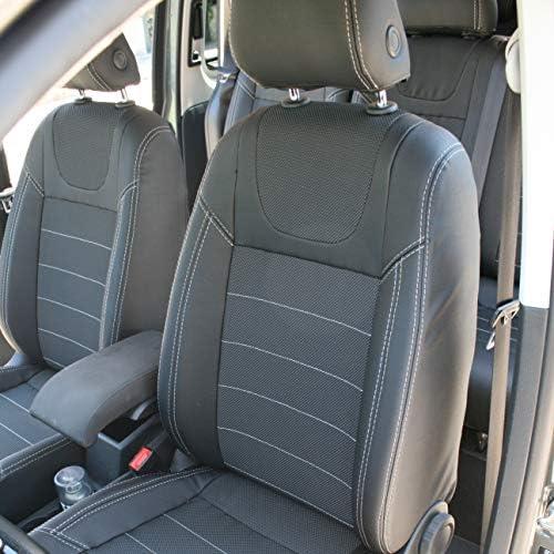 Totalmente a Medida De Goma Tapetes van 2 piezas de este conjunto 2004-2015 VW Caddy