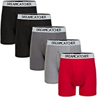 Colourful Boxer Briefs Men's Underwear Men Pack Open Fly Mens Underwear