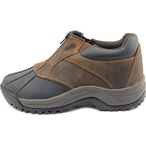 Propét Mens fairbanksc Ankle Zip Suede Cap Toe Ankle Safety Boots Brown/Black kutdWkhfu