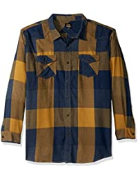 Men's Long Sleeve Flannel Button Down Shirts