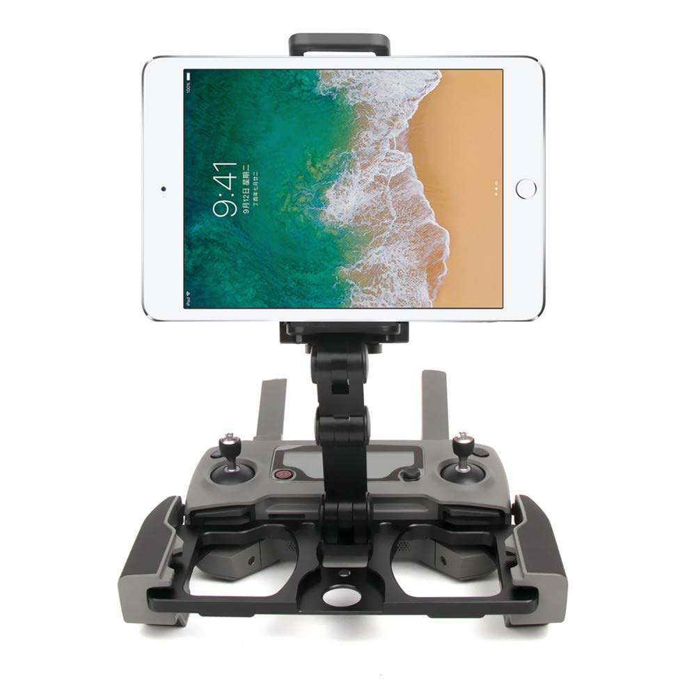 Sandistore for DJI Mavic 2 Zoom Drone Accessories, Remote Controller Smartphone Tablet Clip Holder for DJI Mavic PRO/Mavic AIR/Spark CrystalSky Monitor (with CrystalSky Monitor Stand Black) by Sandistore Sport (Image #3)