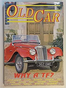Old Car magazine 05/1989 featuring MG TF, Aston Martin