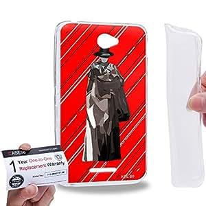 Case88 [Sony Xperia E4 / E4 Dual] Gel TPU Carcasa/Funda & Tarjeta de garantía - Art Teen Personalities Tonight We Are Young C