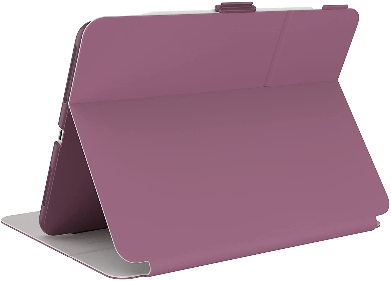 """Speck Products Balance Folio Case iPad Air (2020)/iPad Pro 11"""" (2018-2021) Case, with Microban Protection, Plumberry Purple/Crushed Purple/Crepe Pink"""