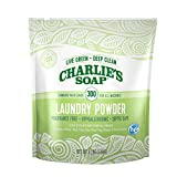 Charlie's Soap Laundry Powder (300 Loads, 1 Pack) Hypoallergenic Deep Cleaning Washing Powder Detergent – Eco-Friendly, Safe, and Effective