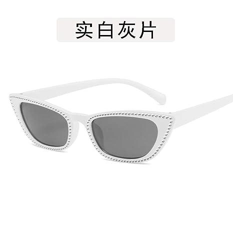 Yangjing-hl Gafas Gafas imitación Diamante Gafas de Sol con ...