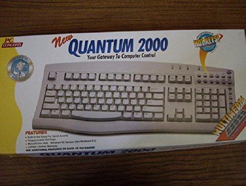 (Quantam 2000 PS/2 MultiMedia Keyboard - Programmable Hot)